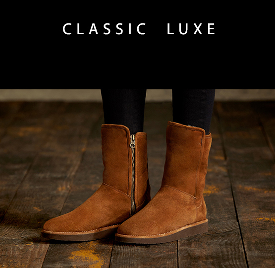 Classic Luxe Materials - One Boot. Three Ways